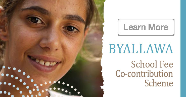Byallawa School Fee Co-contribution Scheme